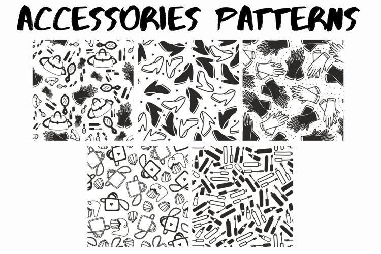 50 accessories patterns example image 1