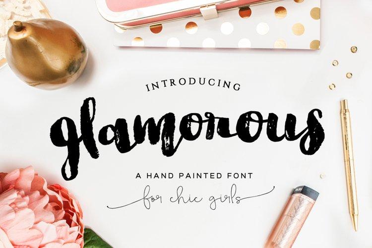Glamorous Brush Font example image 1