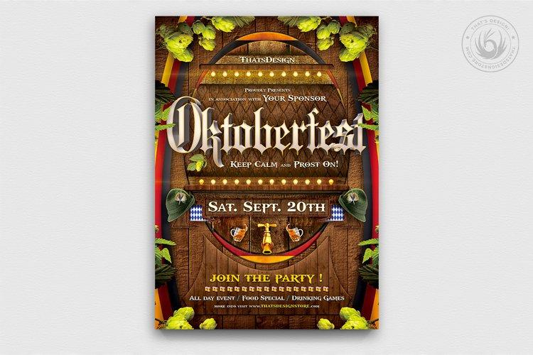 Oktoberfest Flyer Template V6 example image 1