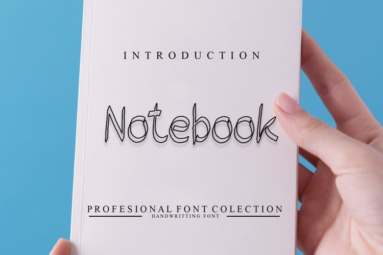 Notebook example image 1