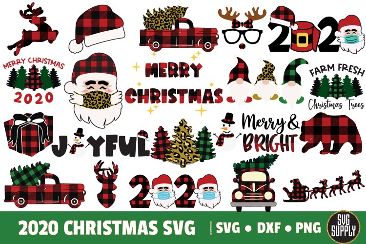 2020 Christmas Big Bundle SVG Cut File