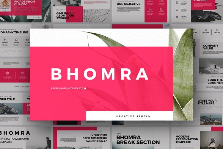 Bhomra Minimal Keynote Presentation Template