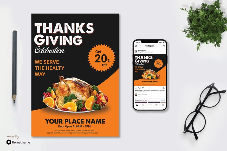 Thanks Giving vol.01 Flyer example image 1