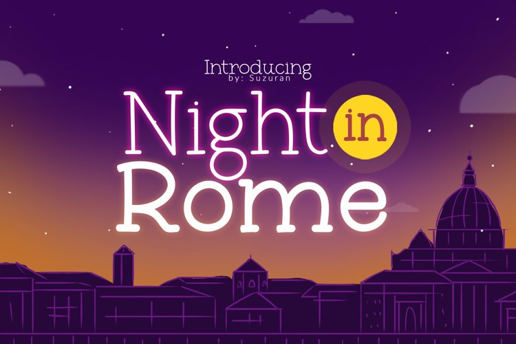 Night in Rome example image 1