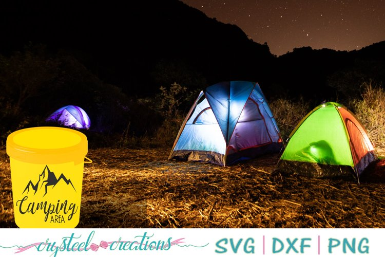 Camping Area SVG, DXF, PNG