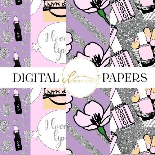 Spring Fling Digital Papers