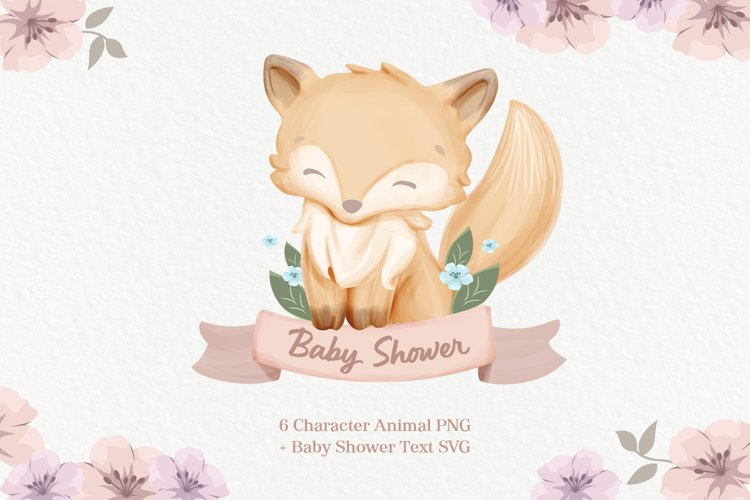 Baby Shower Cute Animal