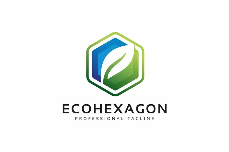 Eco Hexagon Logo example image 1