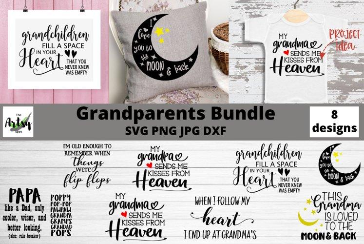 Grandparent quotes svg, Grandma sayings svg, Grandpa quotes