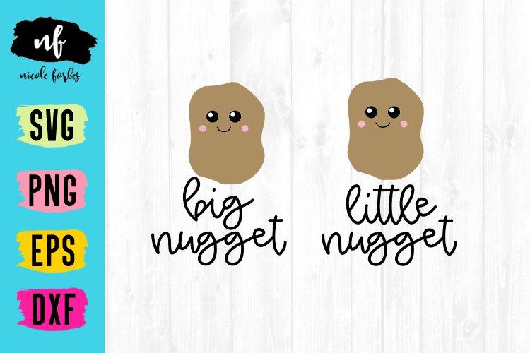 Little Nugget Mommy & Me SVG Cut File