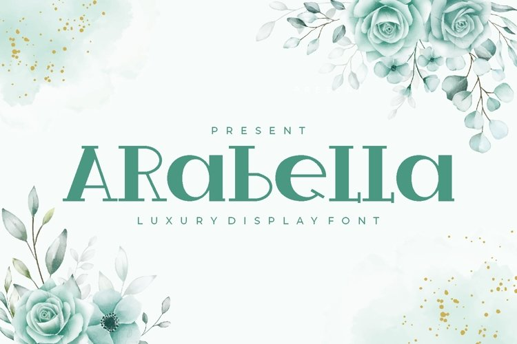 Arabella - Luxury Display Font example image 1