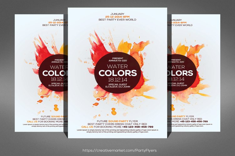 Colorphonic Flyer example image 1