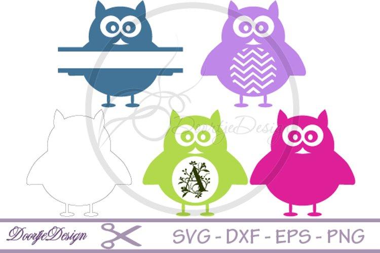 Svg Monogram Owl 42895 Monograms Design Bundles