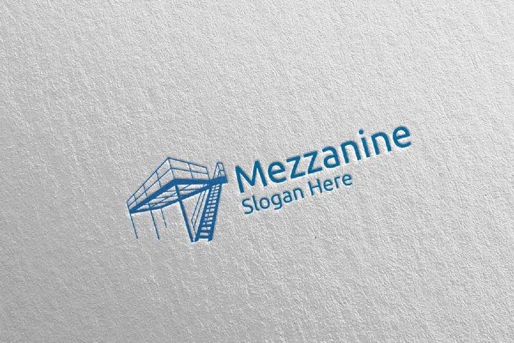 Mezzanine Flooring Parquet Wooden Logo 19 example image 1