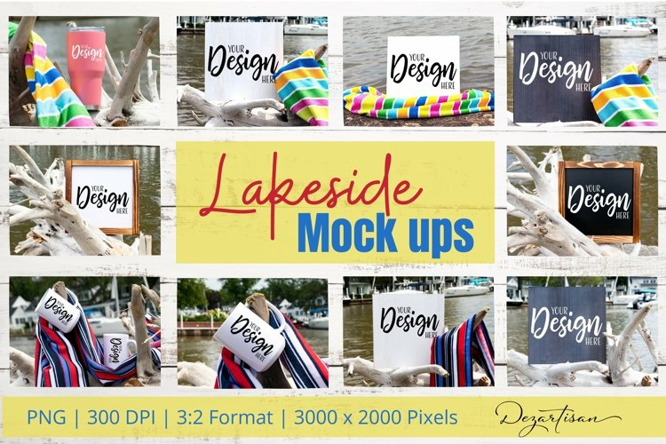 Lakeside PNG Mock Ups for Crafters