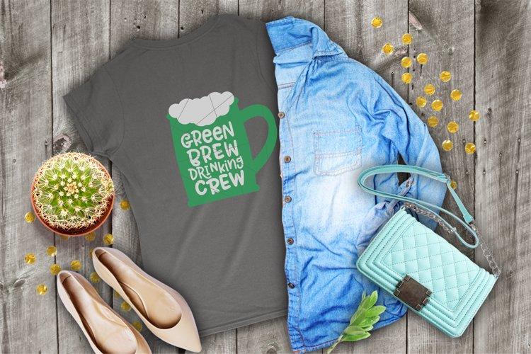 Green Brew Drinking Crew - Mug example image 1