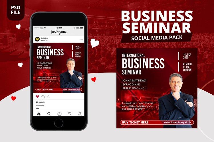 Business Seminar Social Media Pack
