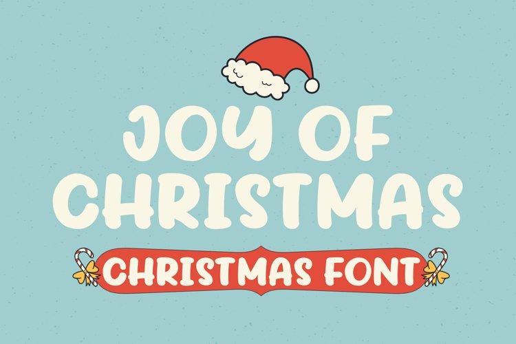 Joy Of Christmas Fonts example image 1
