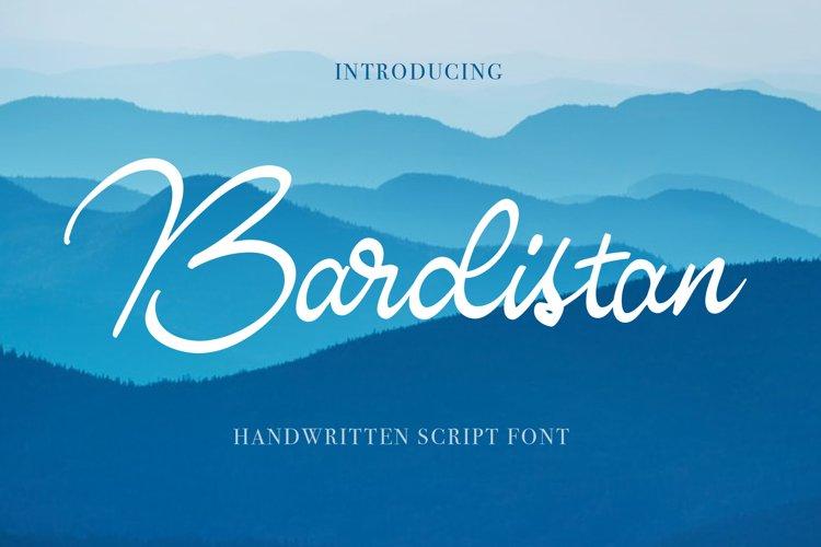 Bardistan Script example image 1