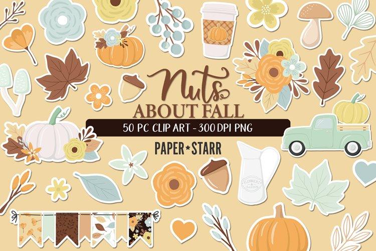 Fall Clip Art, Fall Graphics Set, Thanksgiving Clip Art
