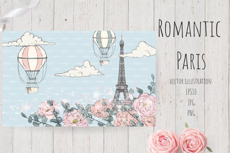 Romantic Paris Card#9 example image 1