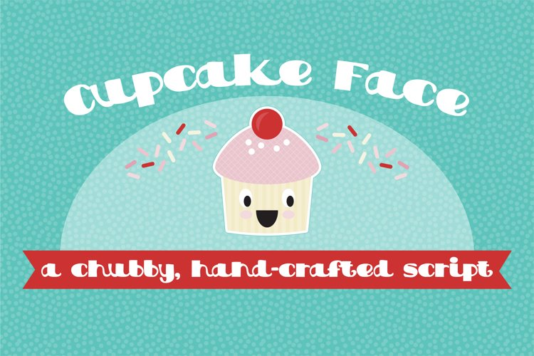 PN Cupcake Face example image 1