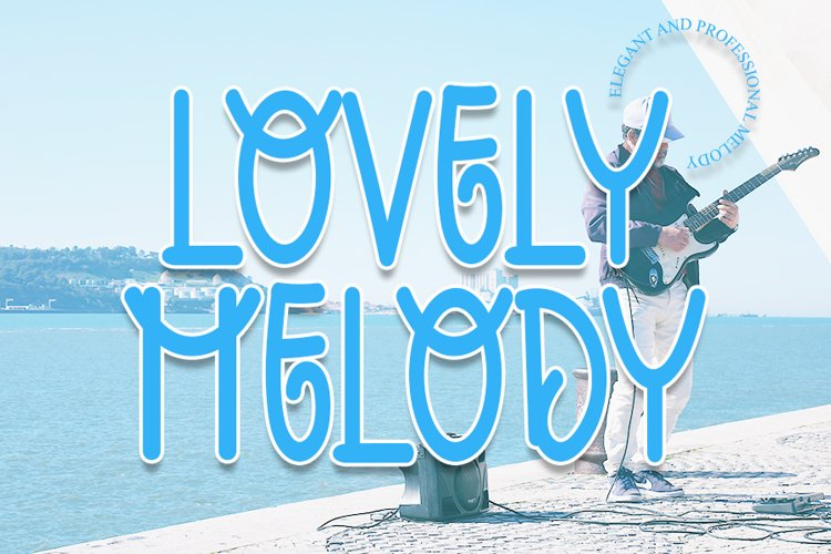 Lovely Melody - A Smart Display Font example image 1