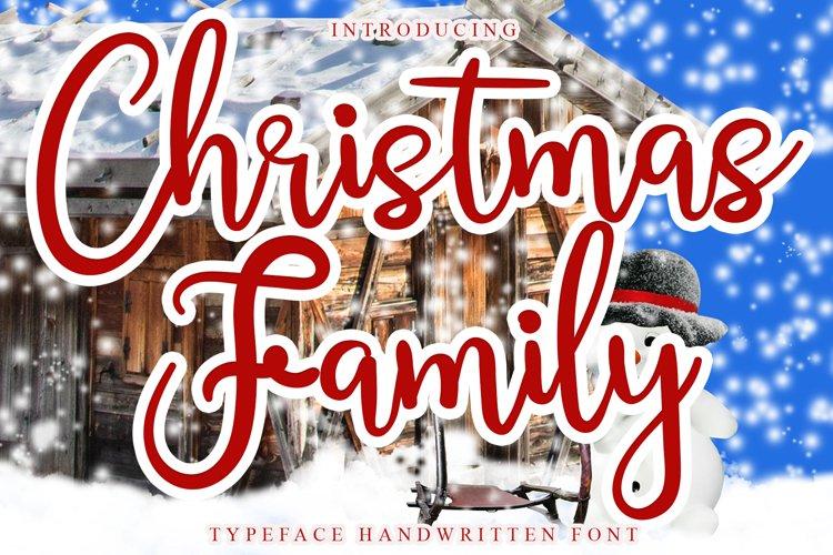 Christmas Family example image 1