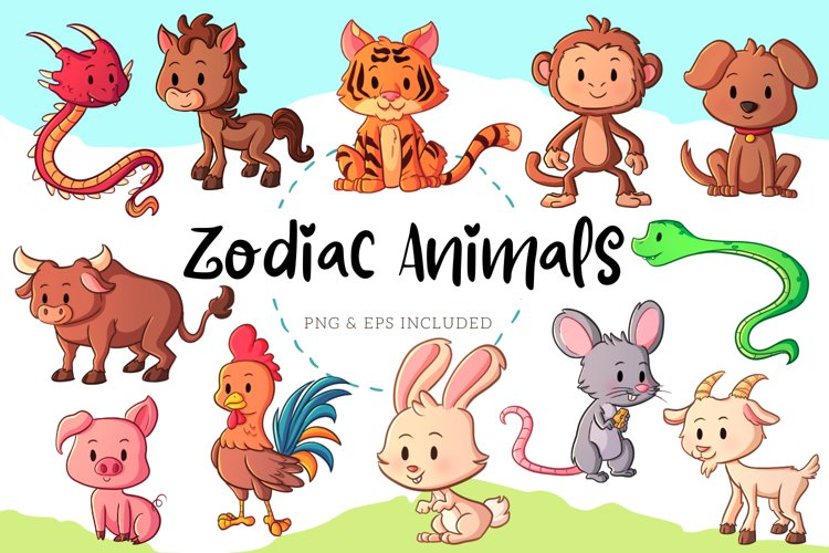 Zodiac Animals example image 1