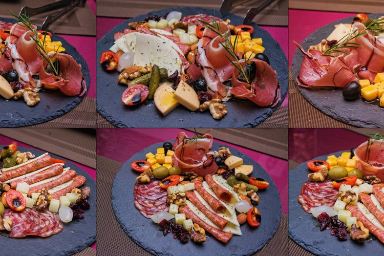 6 files - food platter example image 1