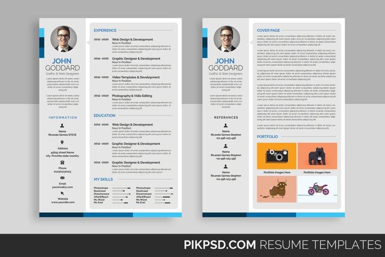 Stylish Resume Template example image 1