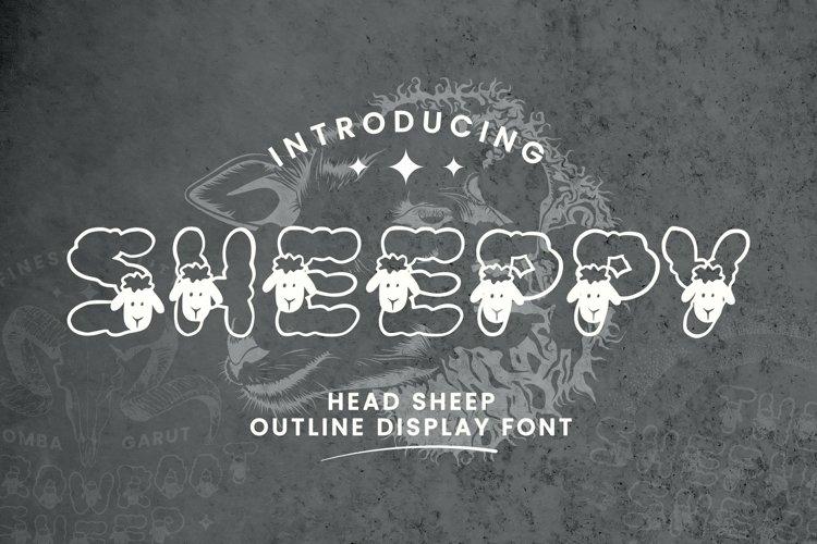 Web Font Sheeppy Font example image 1