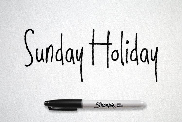 Sunday Holiday example image 1