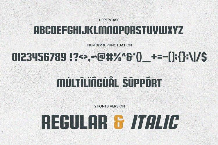 Bali Sunrise - Font Duo example 8