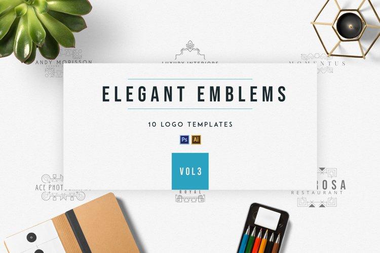 Elegant Emblems | vol.3 example image 1