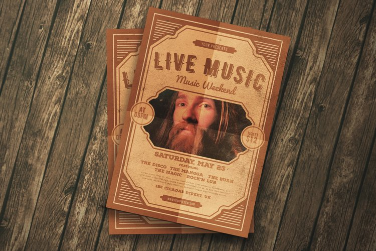 Live Music Flyer example image 1