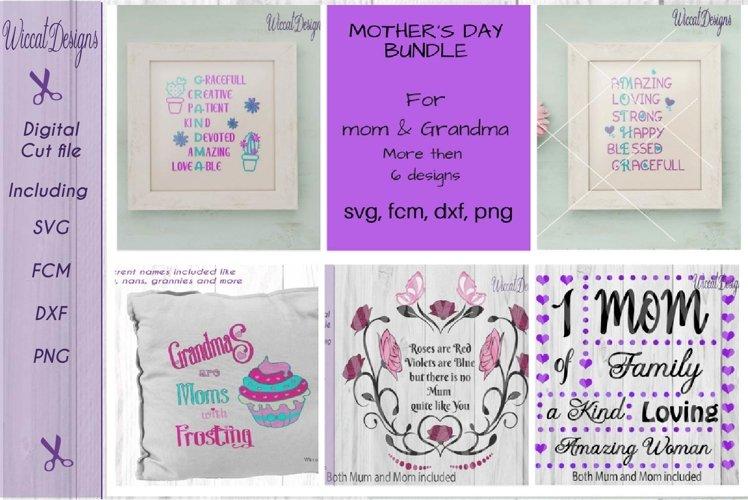 Mothers day bundle, Mom svg, Grandma svg, cactus svg, Pillow Svg, svg cut file, word art svg