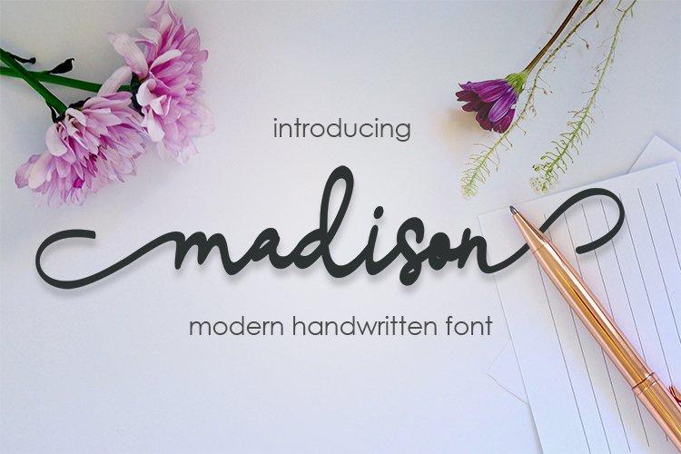 madison script example image 1