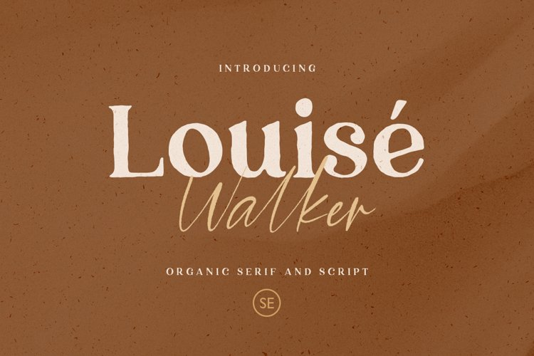 Louise Walker - FONT DUO example image 1