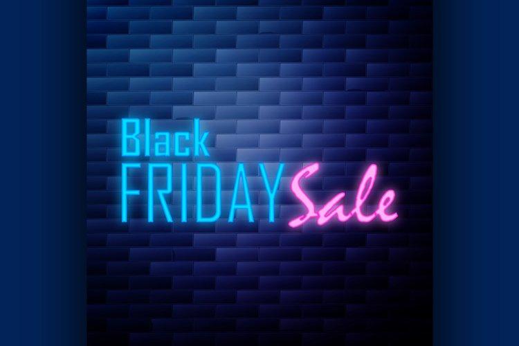 Vintage Black Friday Sale emblem example image 1