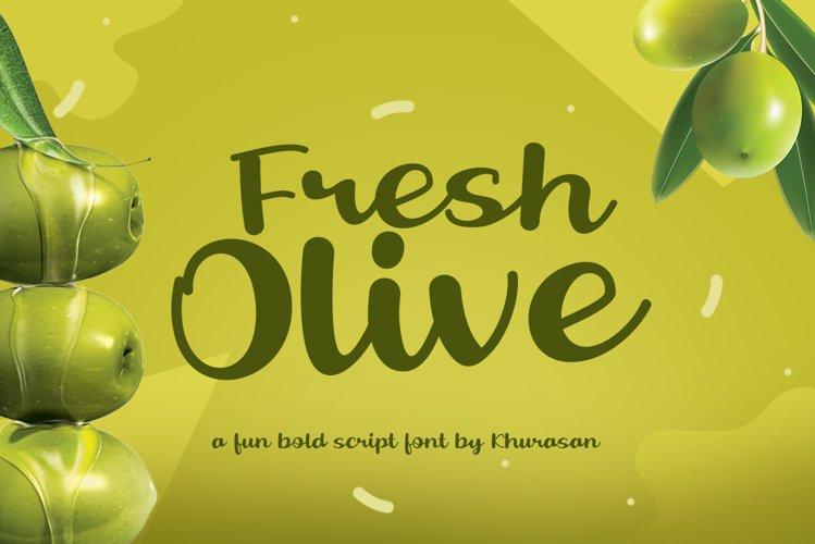 Fresh Olive example image 1