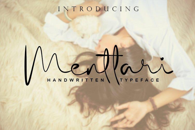 Menttari Font example image 1