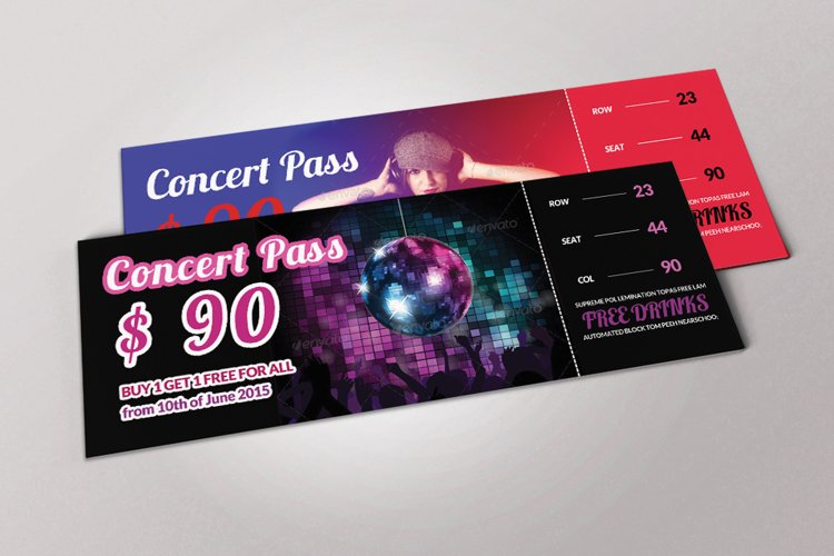 Music Dj Party Tickets example image 1