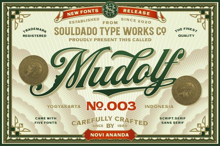 MUDOLF Font Family