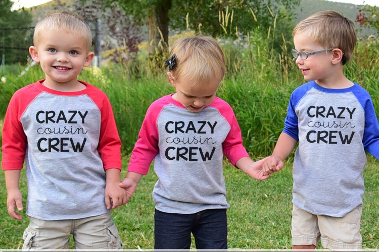 Cousin Crew SVG