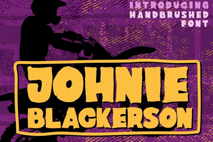Johnie Blackerson example image 1