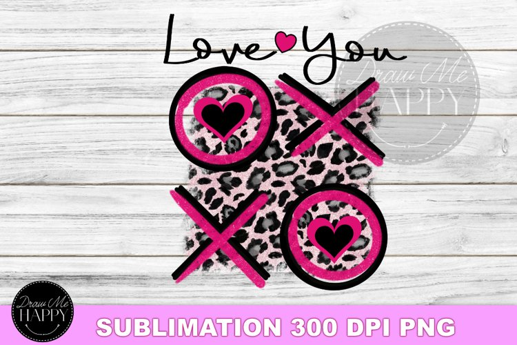 Valentines Day Sublimation, Love You hugs and kisses, PNG