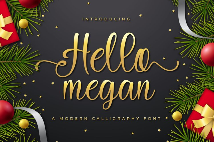 Hello megan example image 1