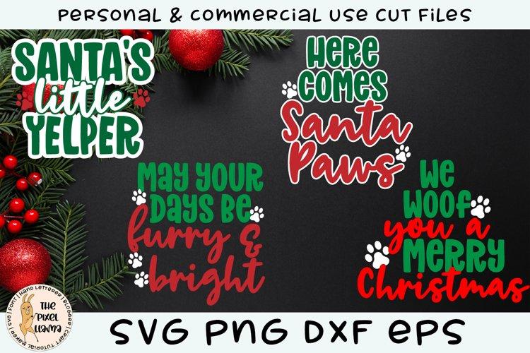 Christmas Puppy Dog Bundle SVG
