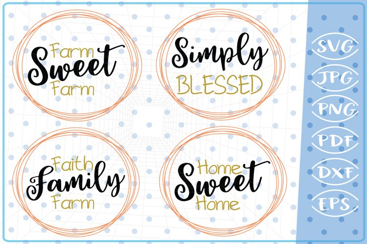 Family Quotes Bundle SVG Cutting Files Svg Cricut SVG Files example image 1